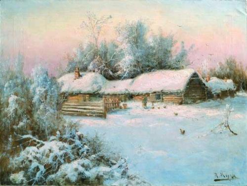 Российский и латвийский художник Карл Розен (1864 - 1934) (30 работ)