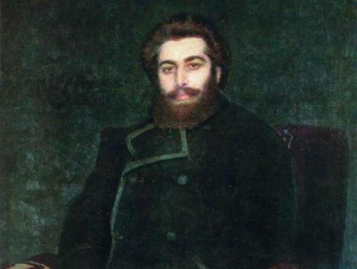 И. Репин. Портрет художника А. И. Куинджи, 1877. Фрагмент | Фото: artscroll.ru