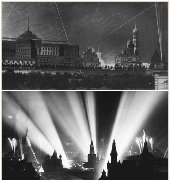 За годы войны Москву бомбили 141 раз, а Кремль всего лишь восемь. | Фото: pressa.tv.