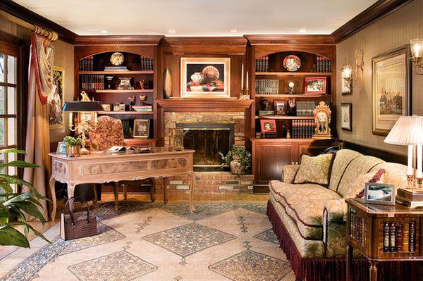 Традиционная домашняя библиотека