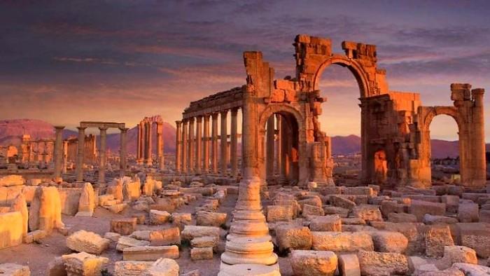 Долгая история античного города была непростой. /Фото: prosto-travel.ru