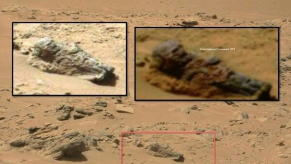 Могила Рюрика на Марсе (фото из открытых источников)