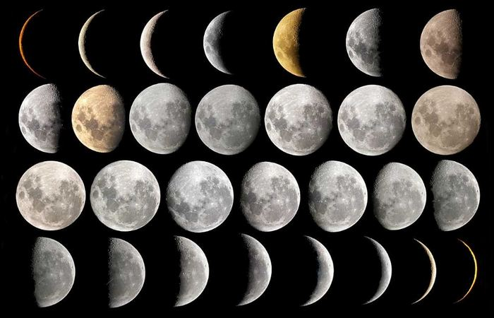 Луна пустотелая.