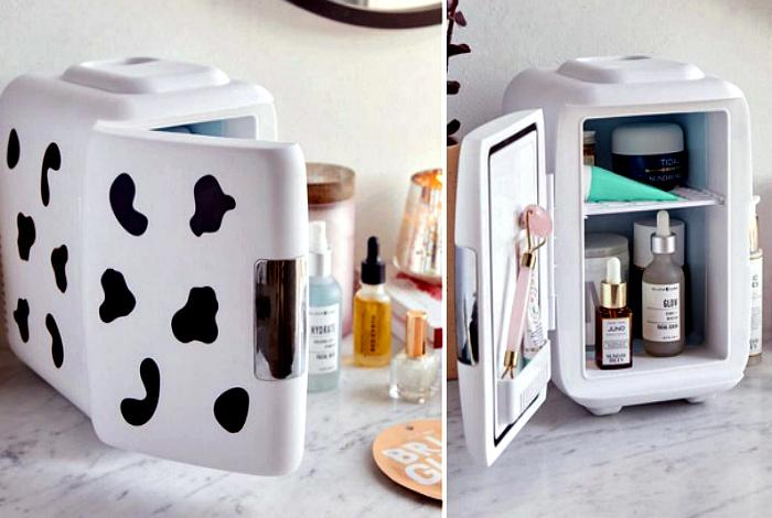 Маленький холодильник для косметики. | Фото: Web Curiosos.