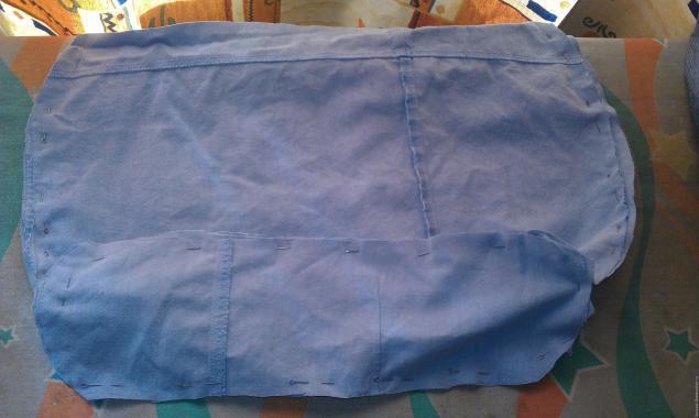 Модная сумка из старых джинсов, фото № 18