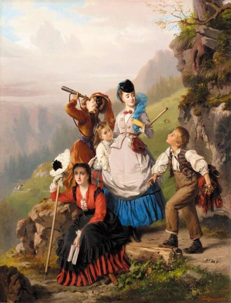 художник Charles Edouard Boutibonne (Шарль Эдуар Бутибон) картины – 11
