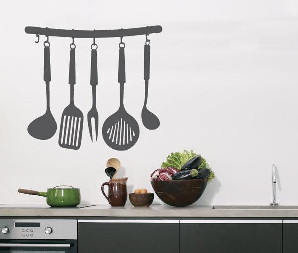 Идеи украшения стен кухни
