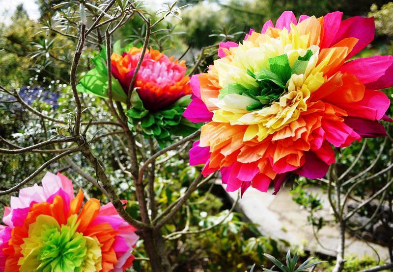 Сделать цветы розы из гофрированной бумаги своими руками поэтапно фото