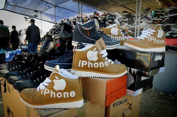 подделки из китая, поддеоки китай имитация, подделка брендов Китай, поддельные марки китай