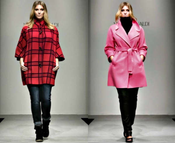 Пальто Marina Rinaldi осень-зима 2014-2015