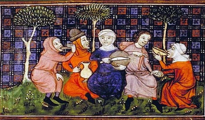 Средневековье и голод.