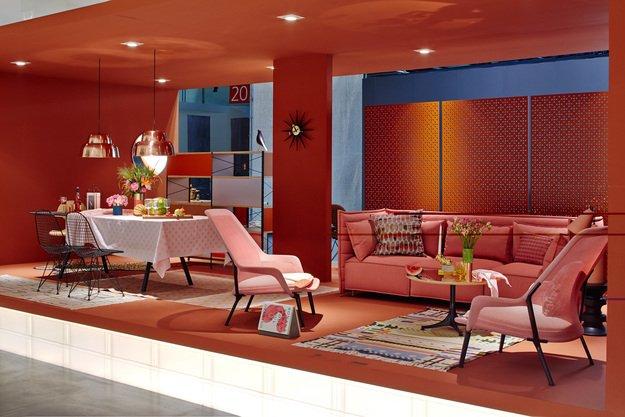 Стенд мебельной компании Vitra на Миланском мебельном салоне - 2013