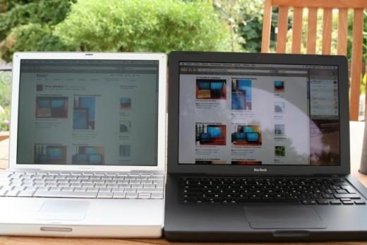 Ноутбуки с глянцевым и матовым дисплеями