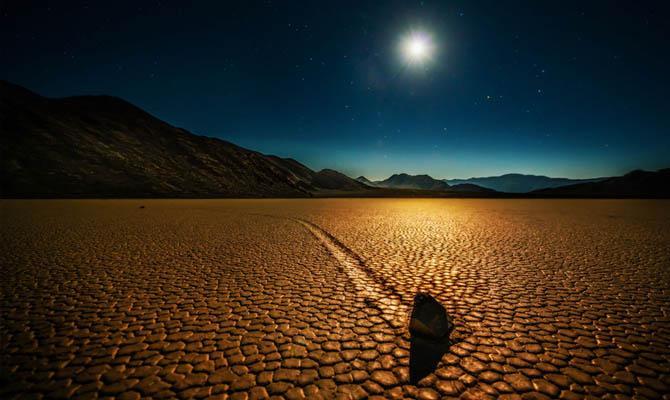 Долина смерти ночью, Интересные факты о Пустыне