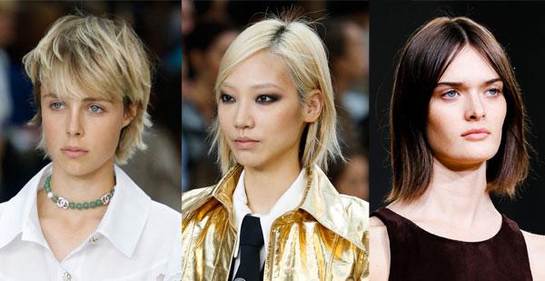 Модные стрижки на короткие волосы весна-лето 2015