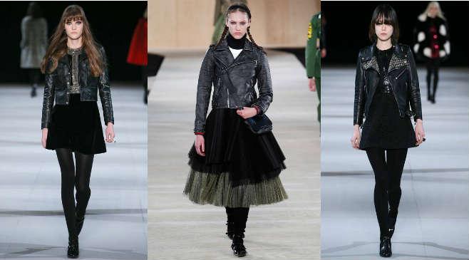 С чем носить кожаную куртку в байкерском стиле