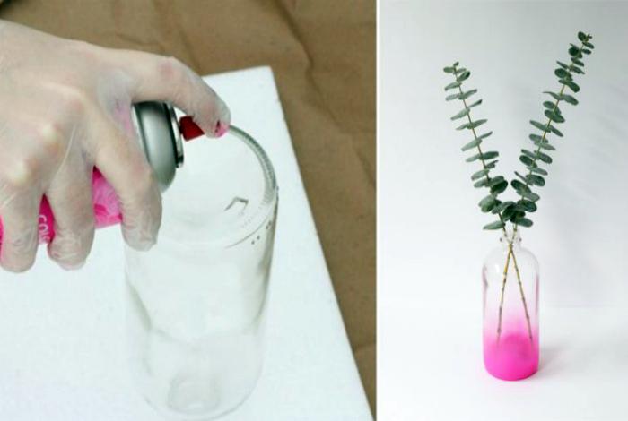 Покраска вазы.