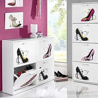 модный шкаф для обуви