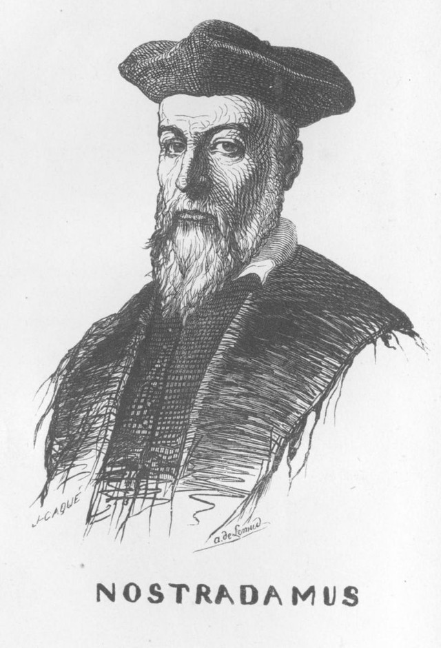 Nostradamus02 Что год грядущий нам готовит, или С днем рождения, Нострадамус!