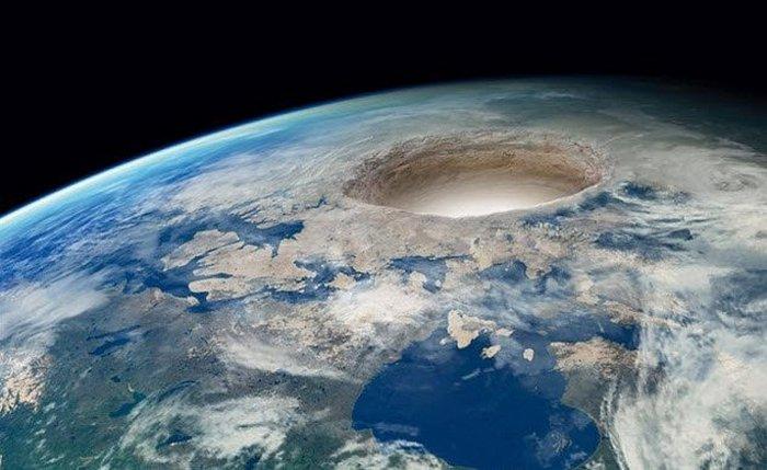 Современные теории о полой планете.