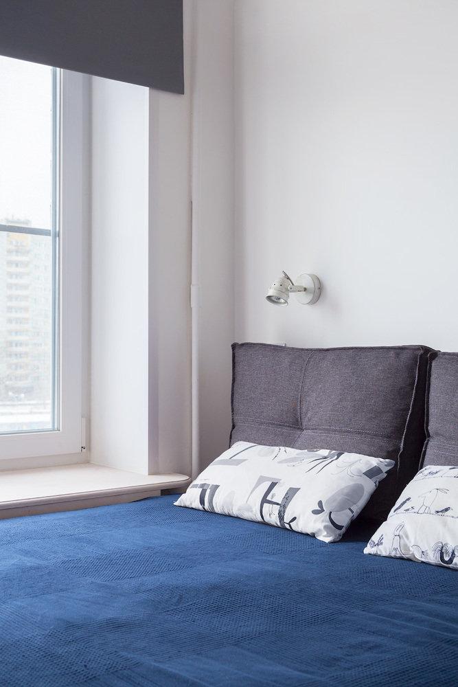 Фотография:  в стиле , Малогабаритная квартира, Квартира, Минимализм, Проект недели, Москва, Евгения Матвеенко, FlatsDesign, 2 комнаты, 40-60 метров – фото на InMyRoom.ru