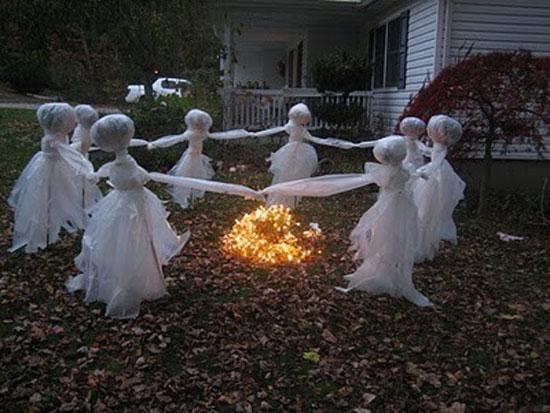 Прививдения для Хэллоуин - своими руками