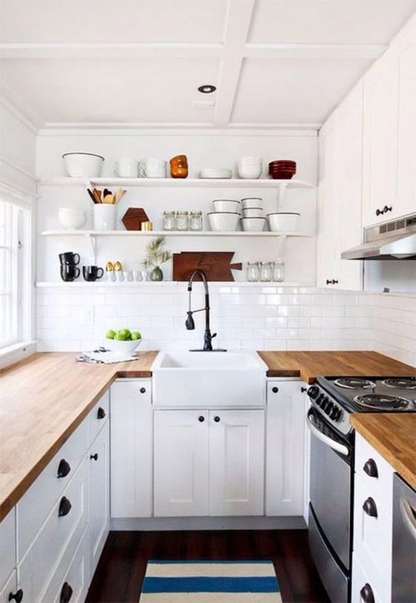 дизайн маленькой кухни фото, фото 30