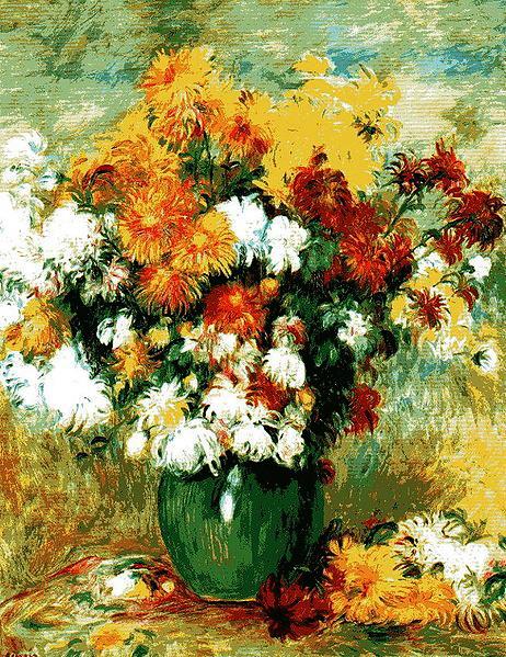 Букет хризантем 1884 (462x599, 168Kb)