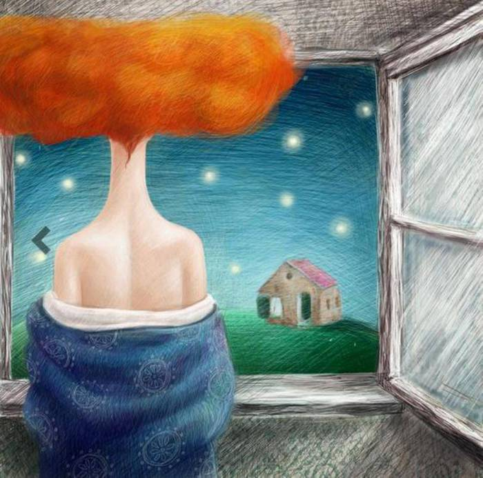 Звёздная ночь. Автор: Яна Фефелова.