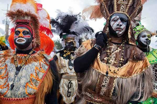Карнавал Марди Гра в Новом Орлеане, США