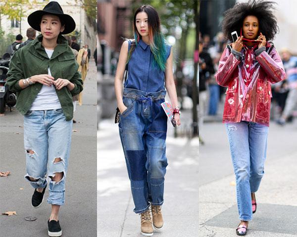 Уличная мода весна-лето 2015
