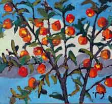 Золотые яблоки, х.м. 2001г. Гафиятуллин И.