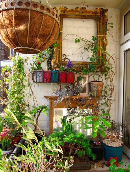 16 очаровательных сезонных идей для сада на балконе фото 4