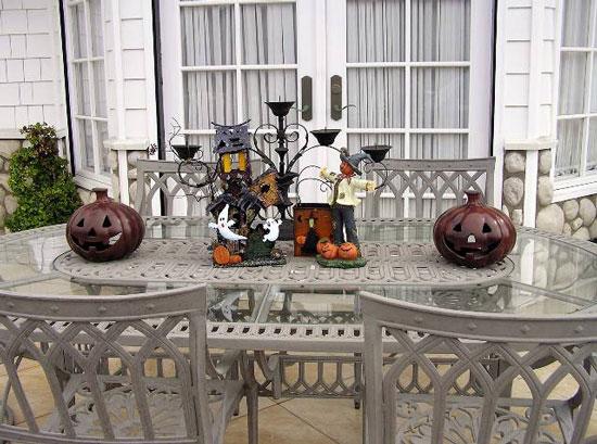 Украшение на Хэллоуин для стола- фото