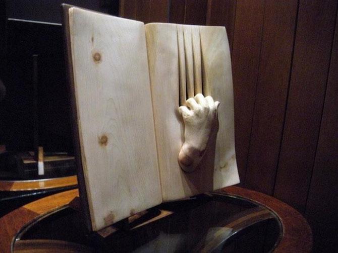 Деревянная книга от Нино Орланди