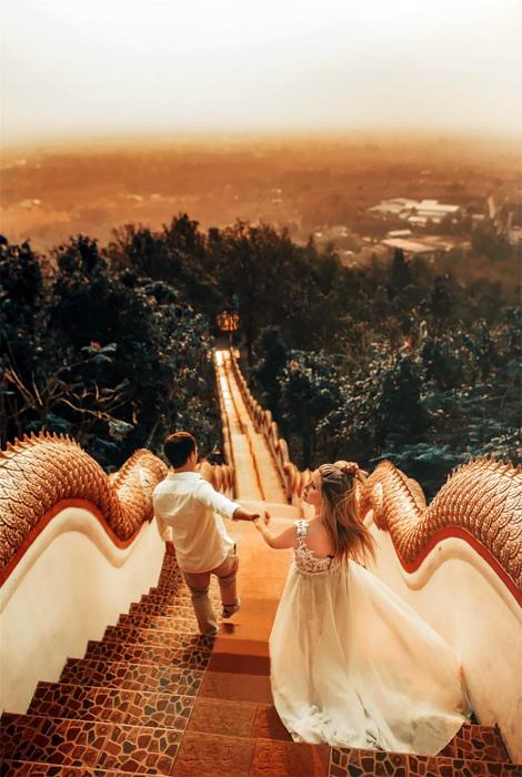 Свадьба в Чиангмай, Таиланд.