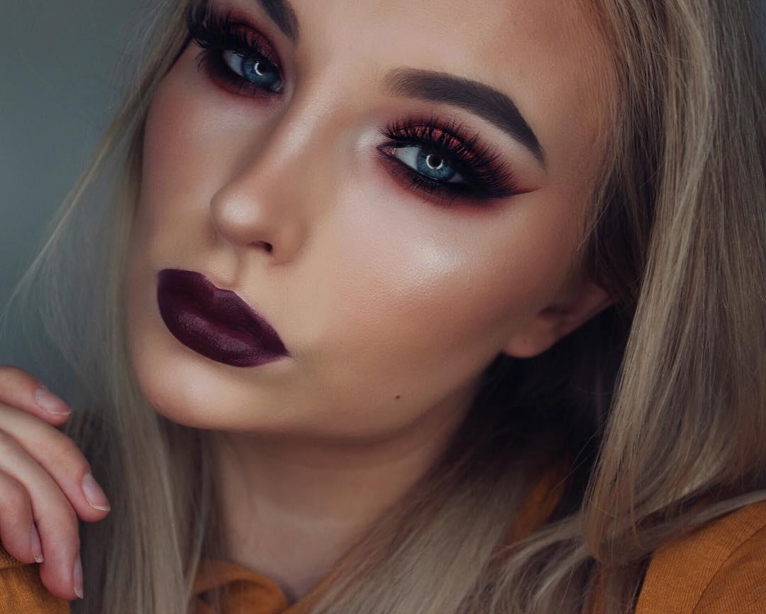 2019 год - 34 неотразимые идеи макияжа для встречи Нового года 2019