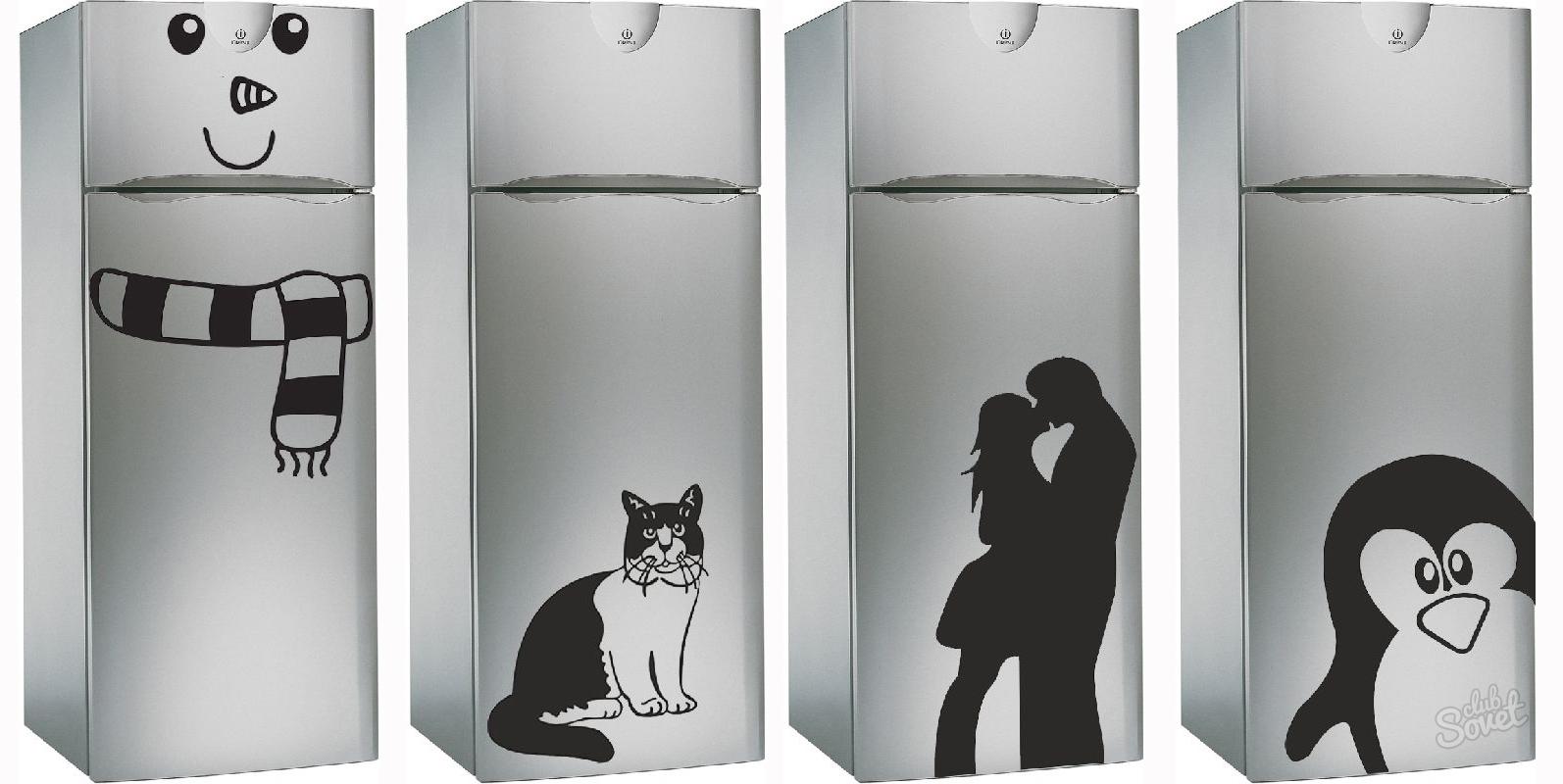 Картинки прикольных холодильников