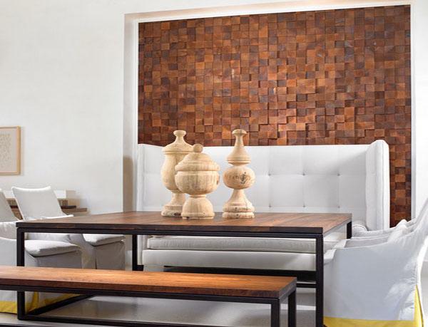 Мозаичная стена от Beckwith Interiors
