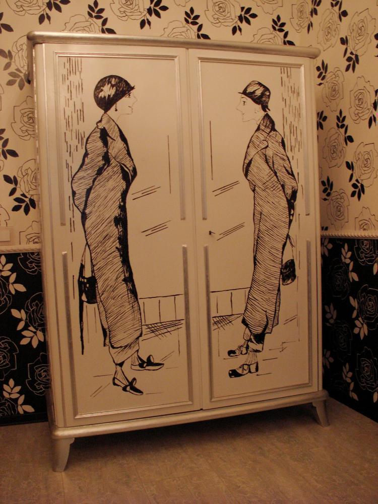 Как сделать кухонный шкаф над холодильником фото разрезать