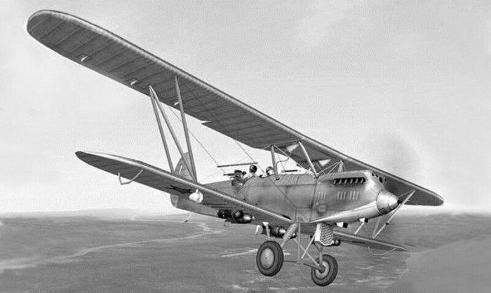Самолёт Р-5 конструкции Поликарпова Н.Н. /Фото: i.pinimg.com