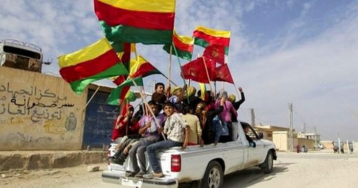 Автономная область Сирийский Курдистан.