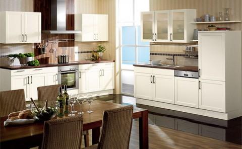 Кухонные шкафы в интерьере!