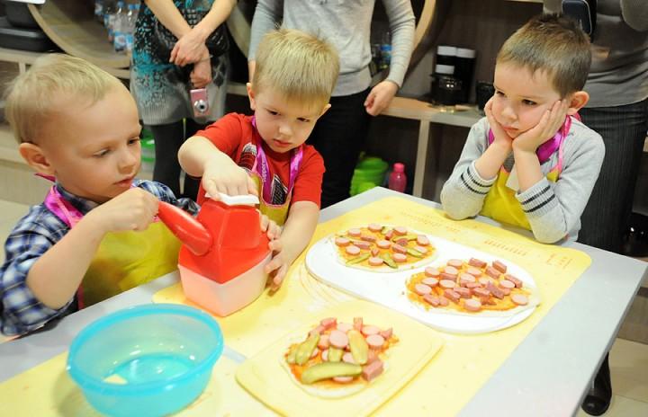 311 Учим детей готовить