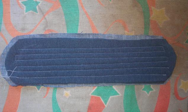Модная сумка из старых джинсов, фото № 28