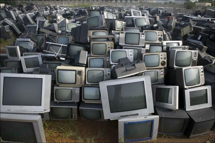 Кладбище телевизоров