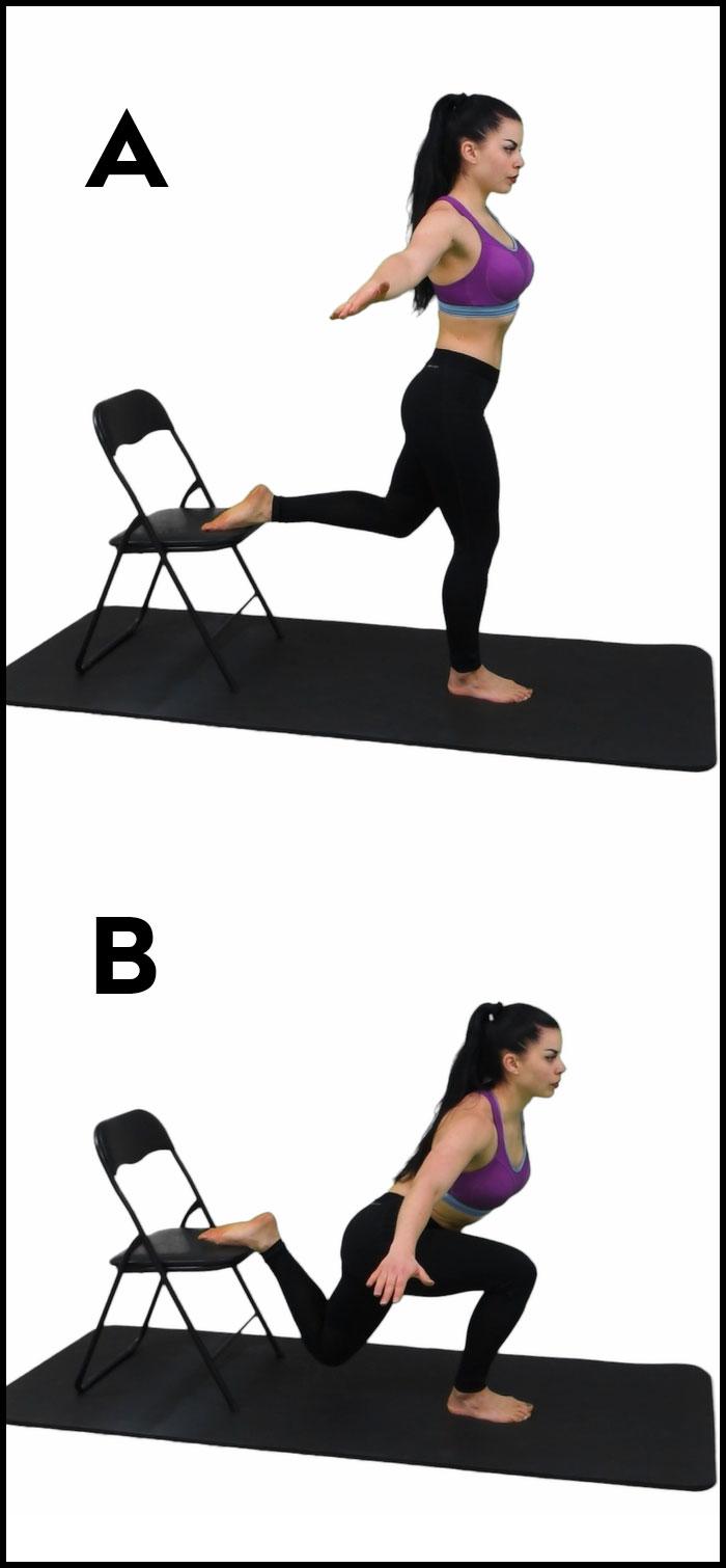 Упражнение приседания