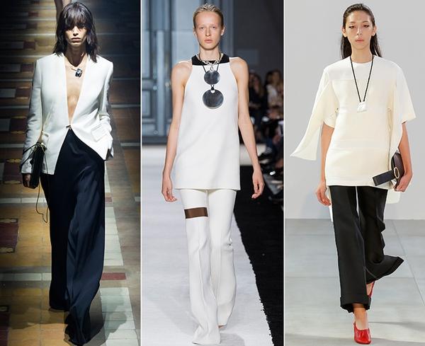 Сочетание черного и белого - классика моды