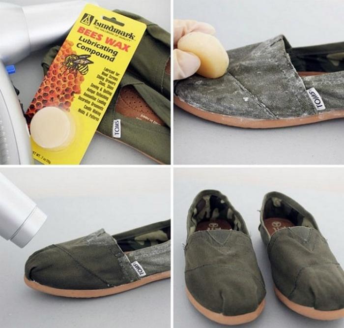 Непромокаемая обувь.
