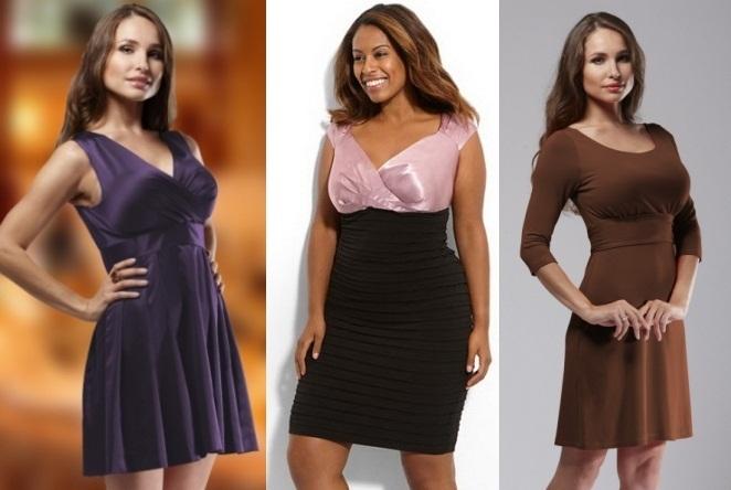 Фасон платья скрывающий живот и бока - как выбрать
